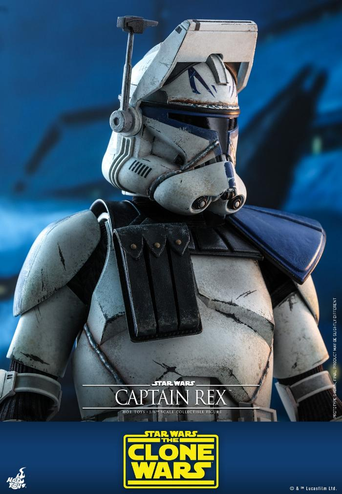 Captain Rex 1/6th scale Star Wars: The Clone Wars - Hot Toys Rex_0310