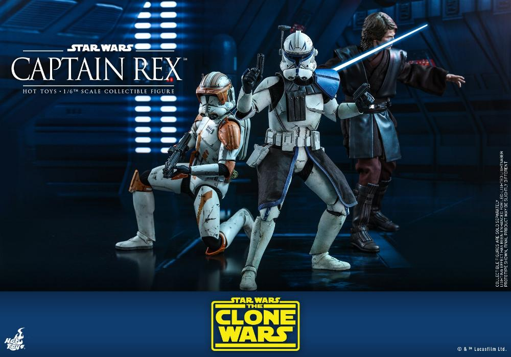 Captain Rex 1/6th scale Star Wars: The Clone Wars - Hot Toys Rex_0410