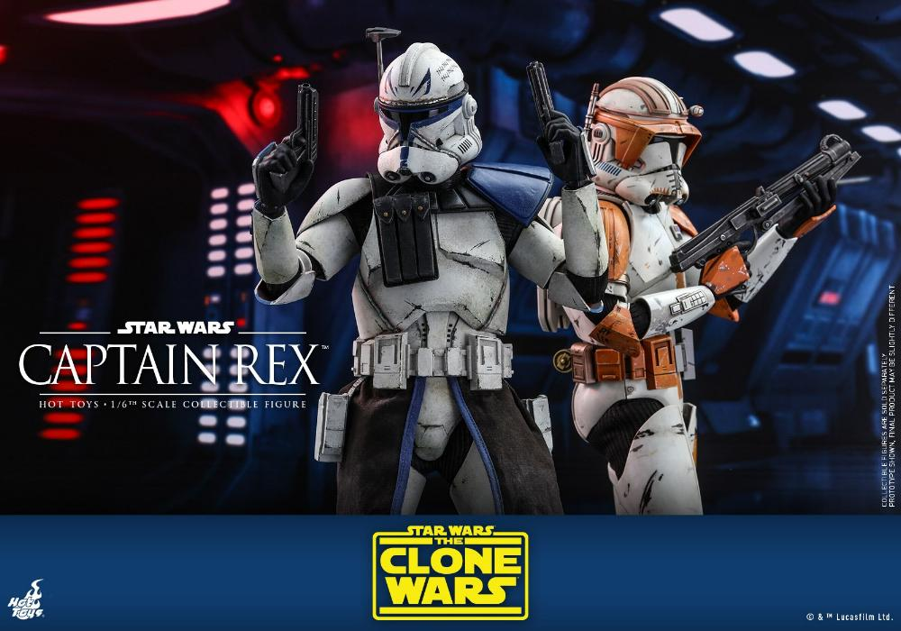Captain Rex 1/6th scale Star Wars: The Clone Wars - Hot Toys Rex_0510