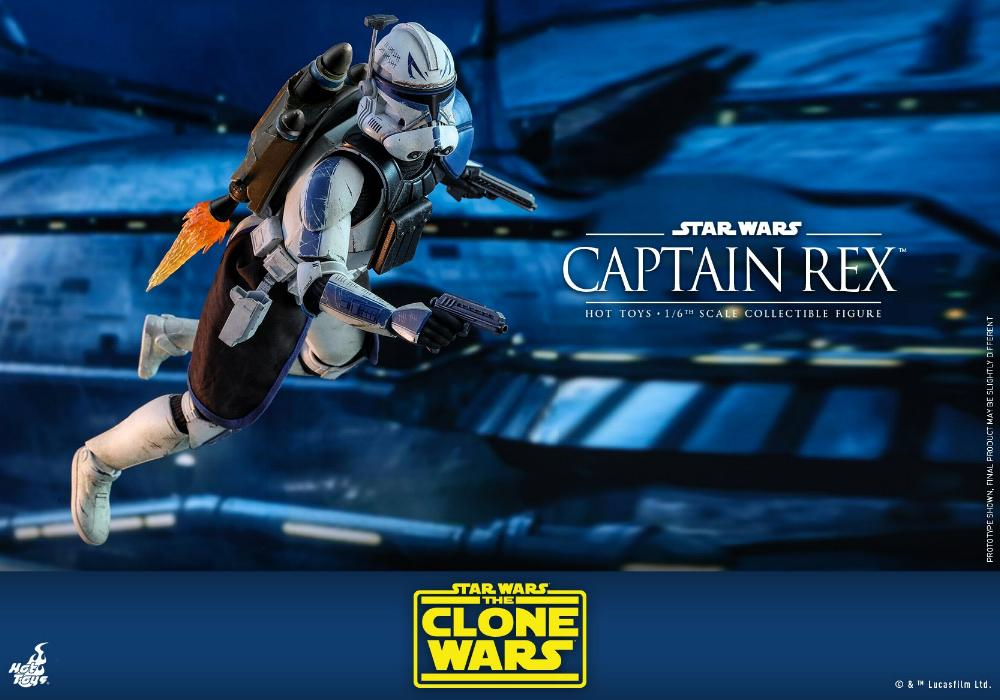 Captain Rex 1/6th scale Star Wars: The Clone Wars - Hot Toys Rex_0610