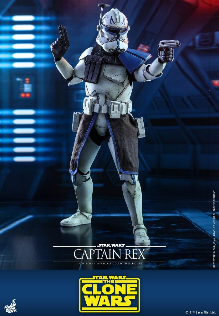 Captain Rex 1/6th scale Star Wars: The Clone Wars - Hot Toys Rex_0710