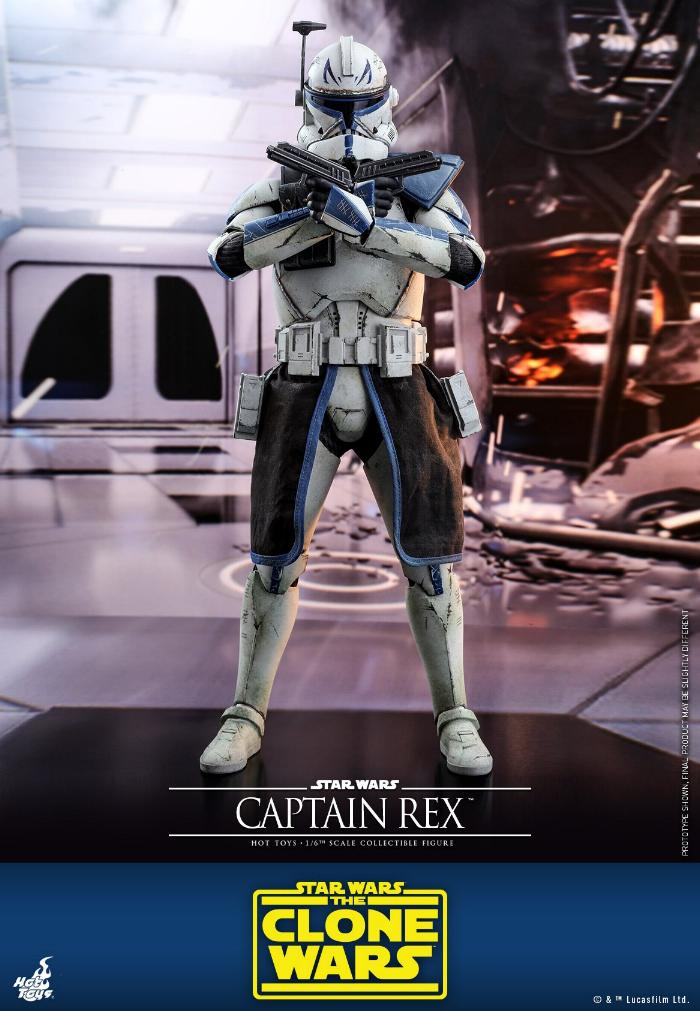 Captain Rex 1/6th scale Star Wars: The Clone Wars - Hot Toys Rex_0810