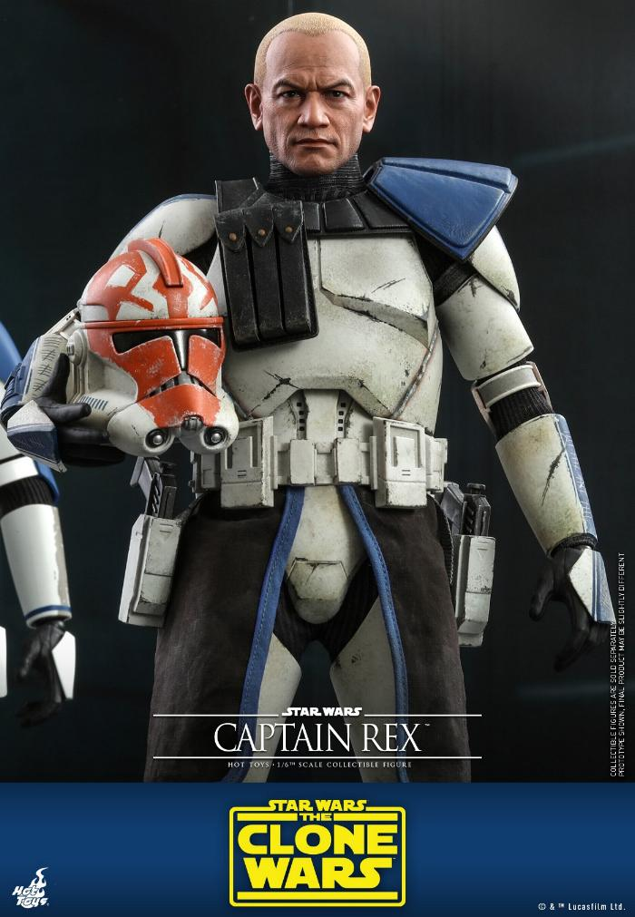 Captain Rex 1/6th scale Star Wars: The Clone Wars - Hot Toys Rex_0910