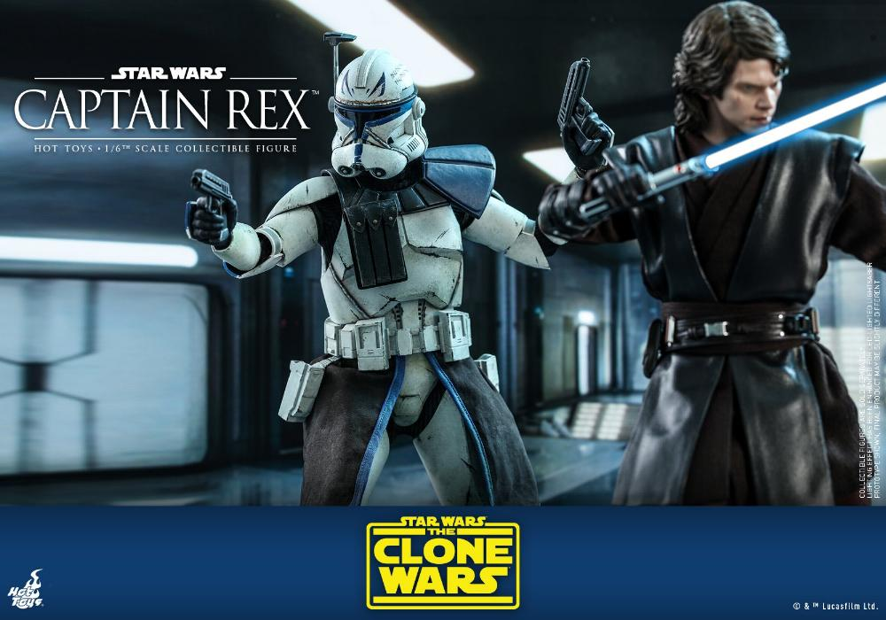 Captain Rex 1/6th scale Star Wars: The Clone Wars - Hot Toys Rex_1010