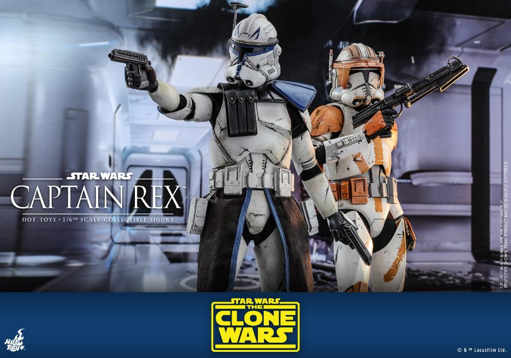 Captain Rex 1/6th scale Star Wars: The Clone Wars - Hot Toys Rex_1110