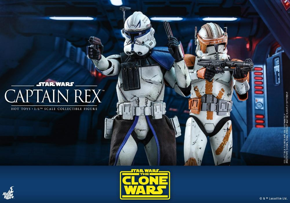 Captain Rex 1/6th scale Star Wars: The Clone Wars - Hot Toys Rex_1210