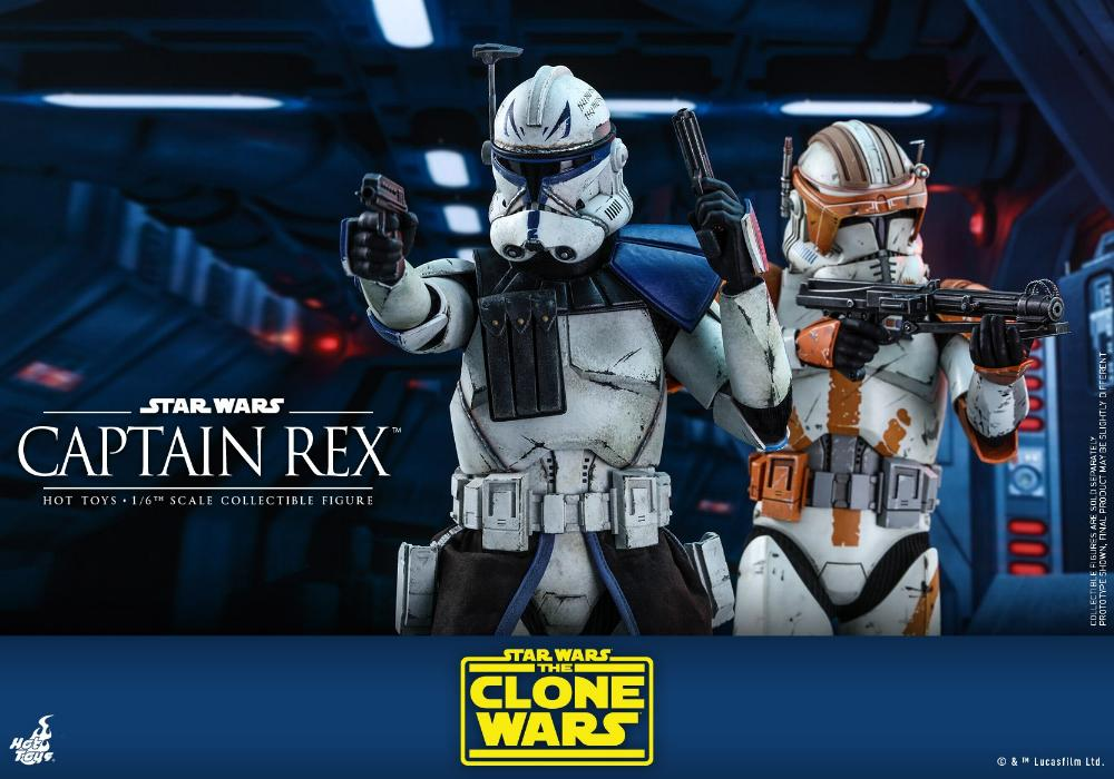 Captain Rex 1/6th scale Star Wars: The Clone Wars - Hot Toys Rex_1310