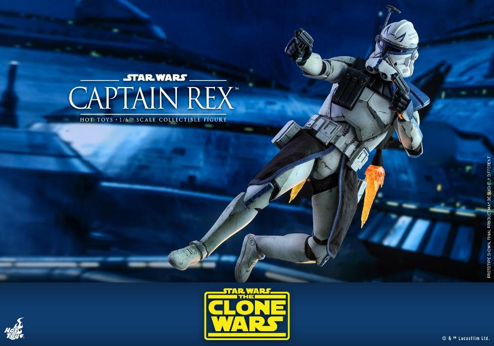 Captain Rex 1/6th scale Star Wars: The Clone Wars - Hot Toys Rex_1410