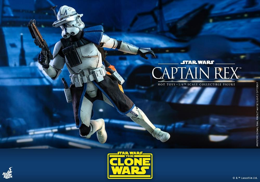 Captain Rex 1/6th scale Star Wars: The Clone Wars - Hot Toys Rex_1510