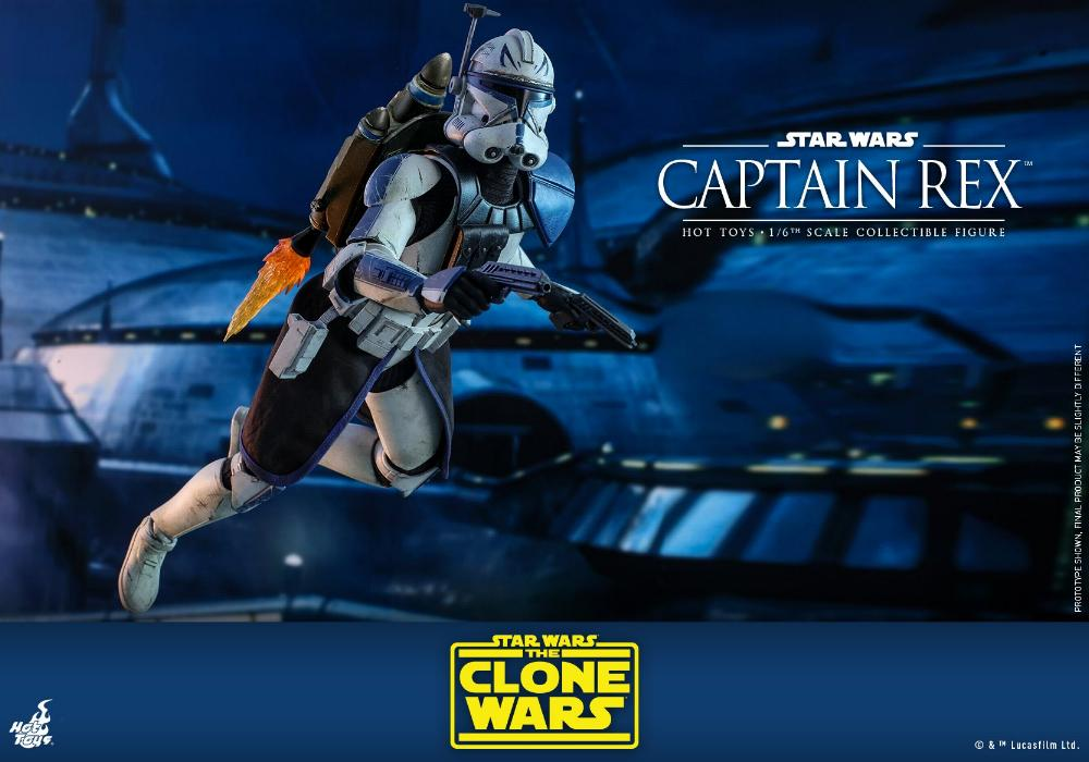 Captain Rex 1/6th scale Star Wars: The Clone Wars - Hot Toys Rex_1610