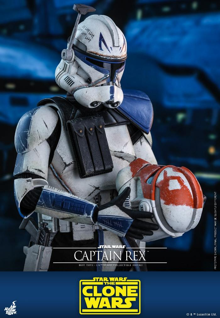 Captain Rex 1/6th scale Star Wars: The Clone Wars - Hot Toys Rex_1710