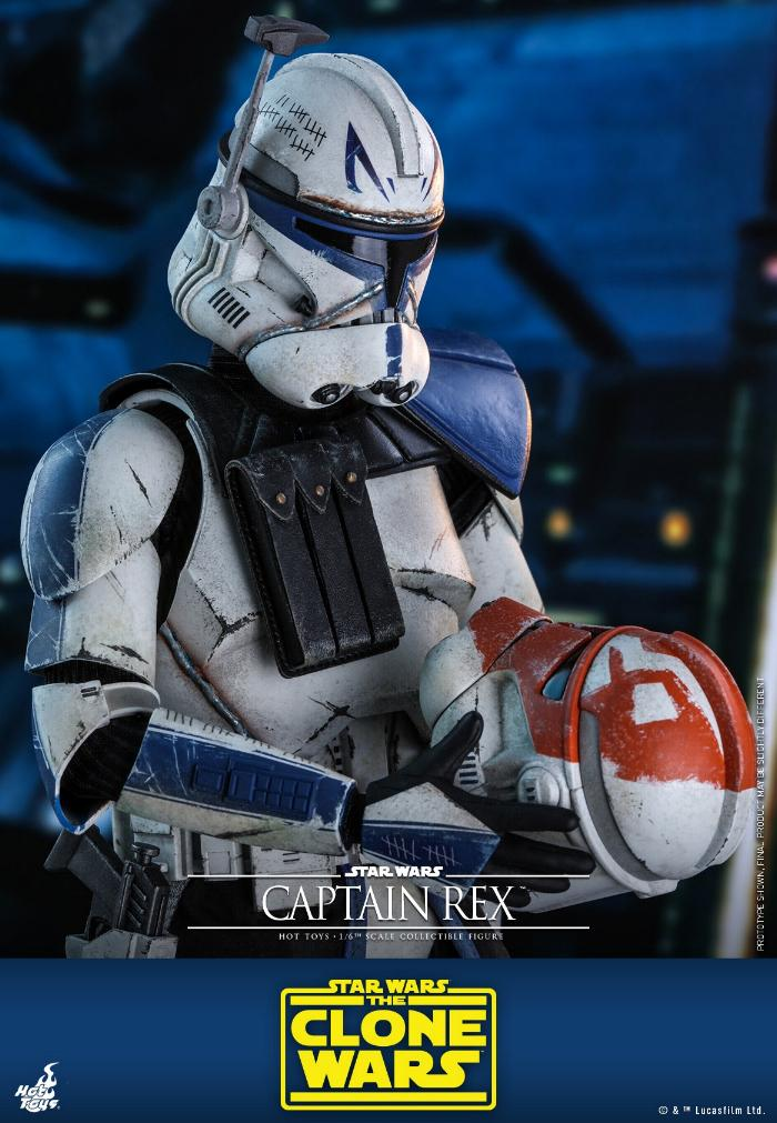 Captain Rex 1/6th scale Star Wars: The Clone Wars - Hot Toys Rex_1810