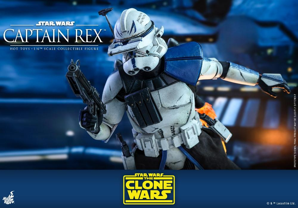 Captain Rex 1/6th scale Star Wars: The Clone Wars - Hot Toys Rex_1910