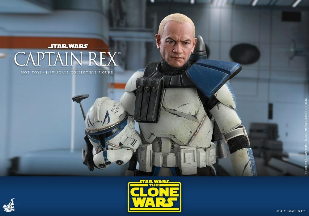 Captain Rex 1/6th scale Star Wars: The Clone Wars - Hot Toys Rex_2210