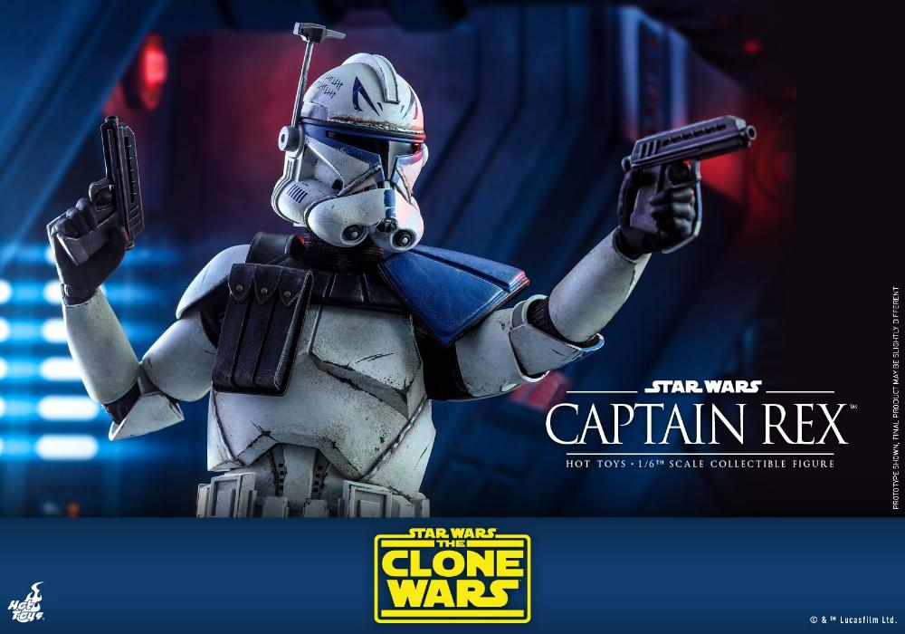 Captain Rex 1/6th scale Star Wars: The Clone Wars - Hot Toys Rex_2310