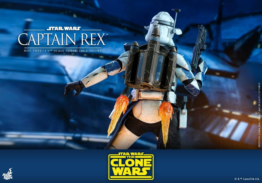 Captain Rex 1/6th scale Star Wars: The Clone Wars - Hot Toys Rex_2410