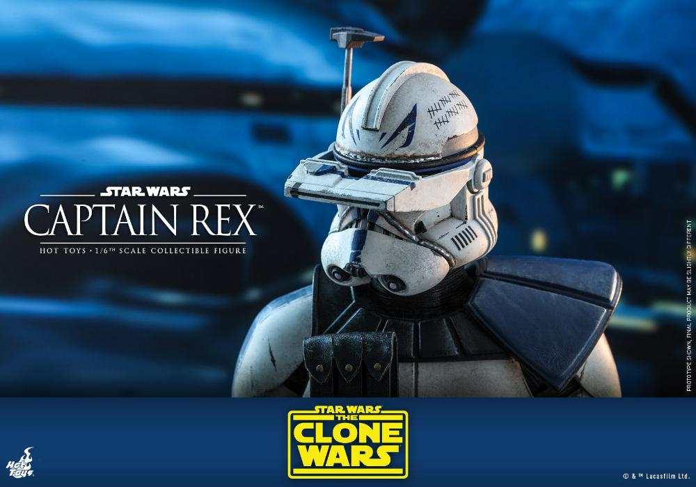 Captain Rex 1/6th scale Star Wars: The Clone Wars - Hot Toys Rex_2510