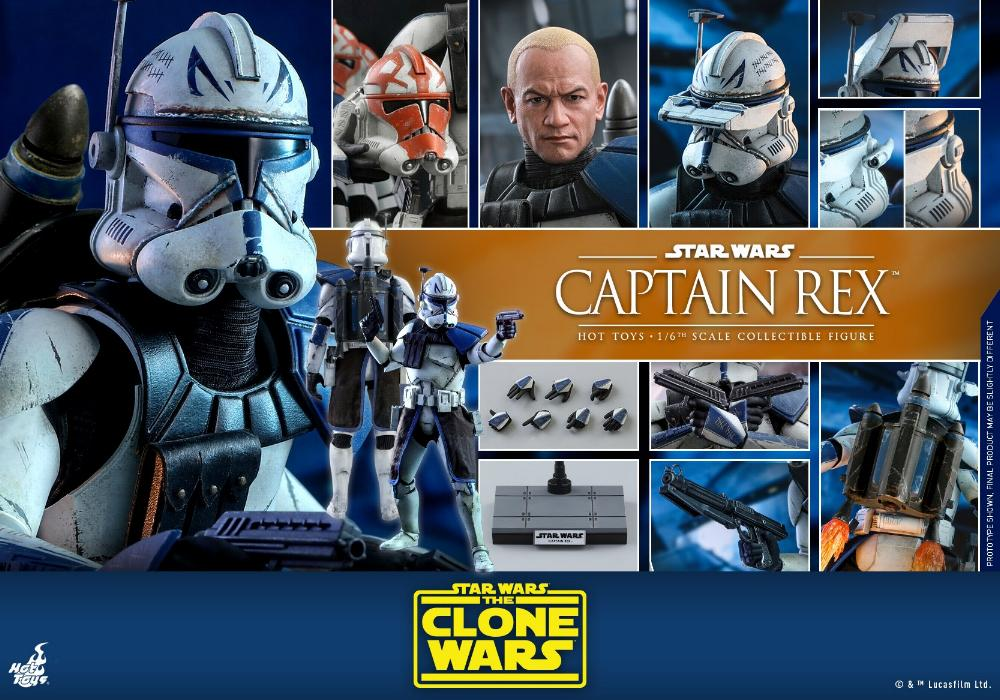 Captain Rex 1/6th scale Star Wars: The Clone Wars - Hot Toys Rex_2610