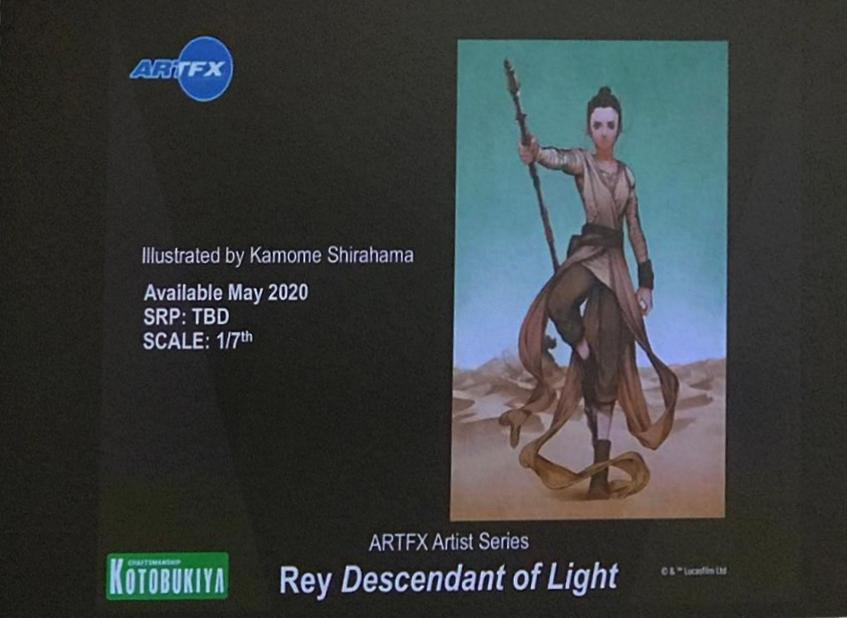 Rey Descendant Of Light - ARTFX Artist Serie - Kotobukiya Rey_de10
