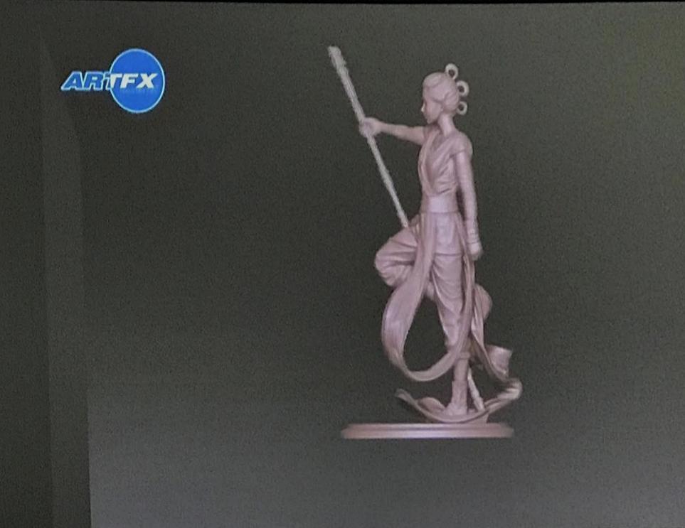 Rey Descendant Of Light - ARTFX Artist Serie - Kotobukiya Rey_de11