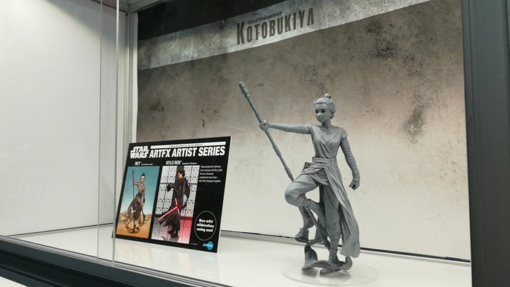 Rey Descendant Of Light - ARTFX Artist Serie - Kotobukiya Rey_de15