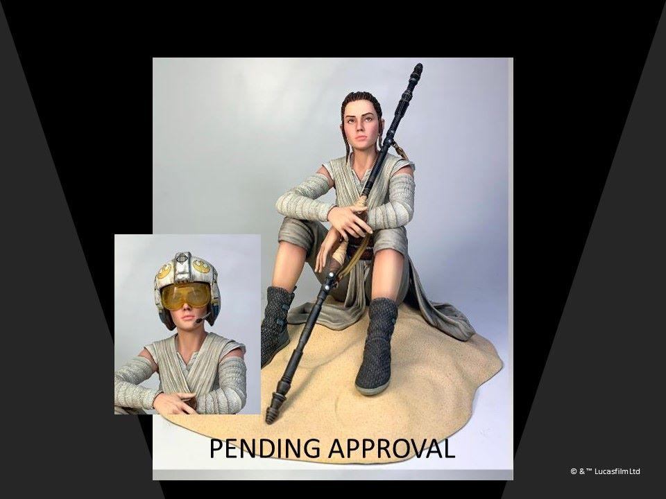 Star Wars Rey Dreamer Statue Statue - 1/7 Scale Rey_dr11