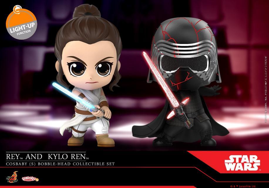 Star Wars The Rise of Skywalker - Cosbaby Bobble-Head  Reykyl10