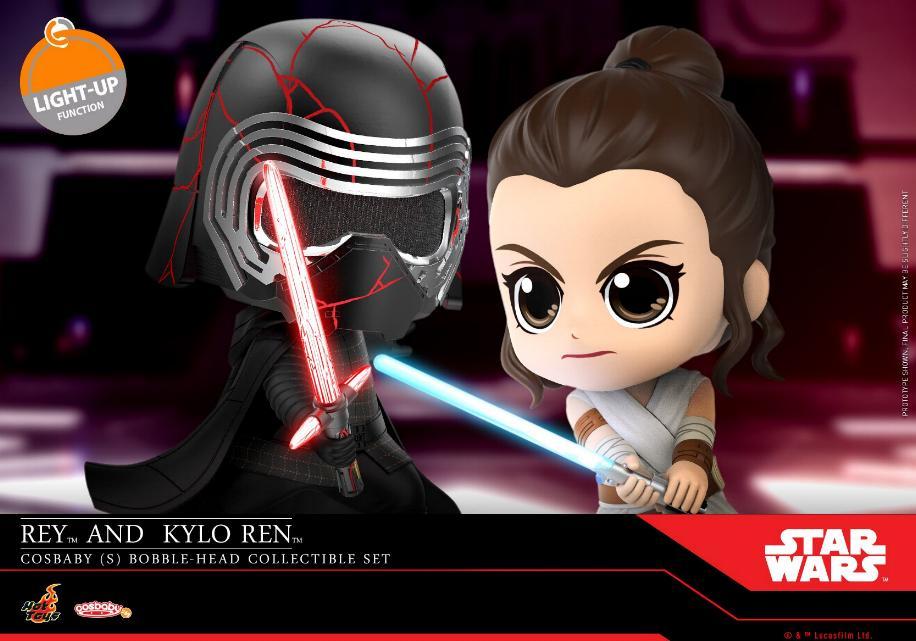 Star Wars The Rise of Skywalker - Cosbaby Bobble-Head  Reykyl11