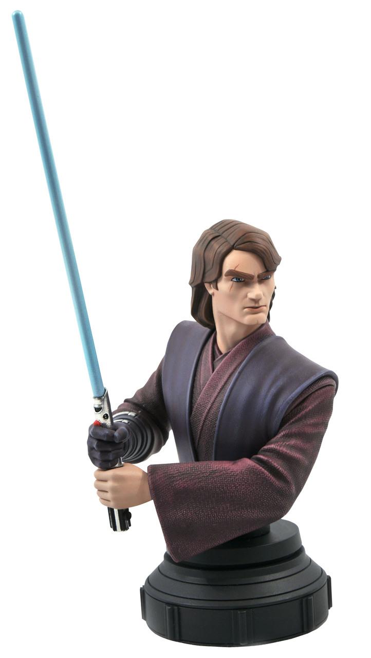 Star Wars: The Clone Wars Anakin Bust - 1:7 - Gentle Giant Rgb_1610