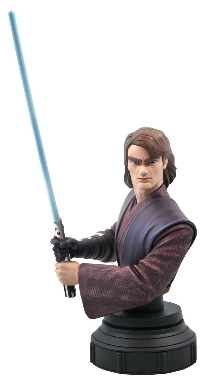 Star Wars: The Clone Wars Anakin Bust - 1:7 - Gentle Giant Rgb_1611