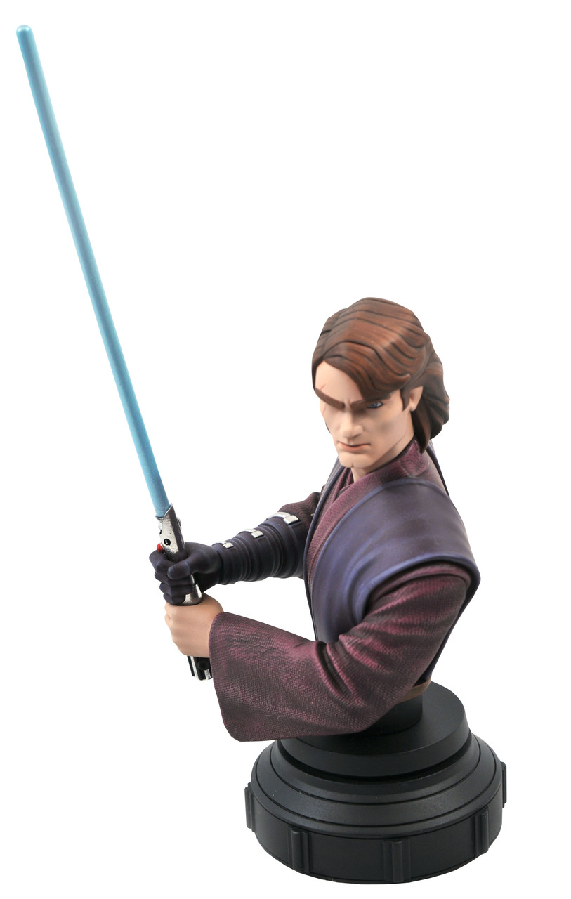 Star Wars: The Clone Wars Anakin Bust - 1:7 - Gentle Giant Rgb_1612