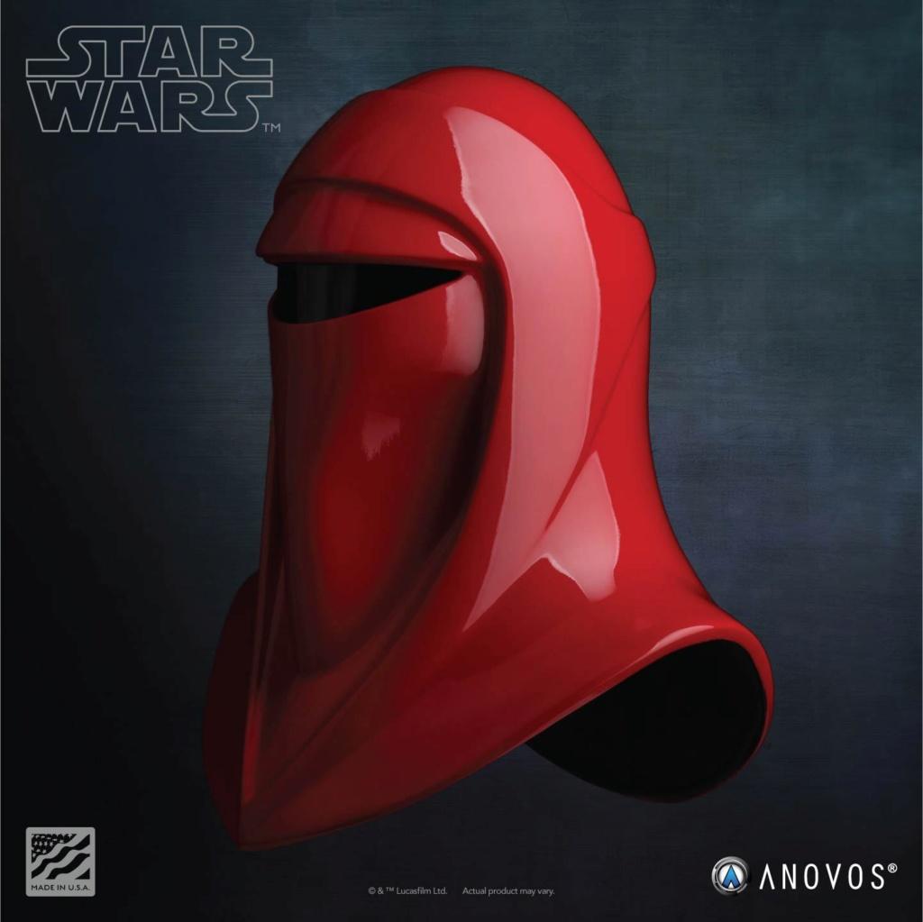 Imperial Royal Guard Helmet Accessory Star Wars ANOVOS - USA Royal-11