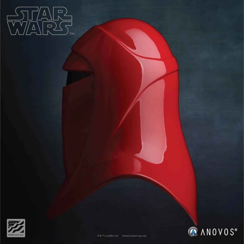 Imperial Royal Guard Helmet Accessory Star Wars ANOVOS - USA Royal-12