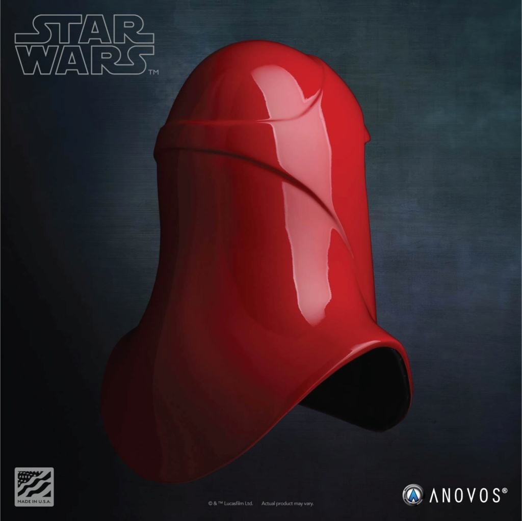 Imperial Royal Guard Helmet Accessory Star Wars ANOVOS - USA Royal-15