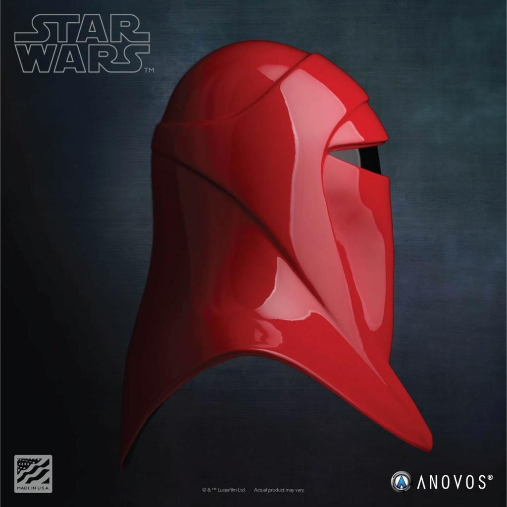 Imperial Royal Guard Helmet Accessory Star Wars ANOVOS - USA Royal-16