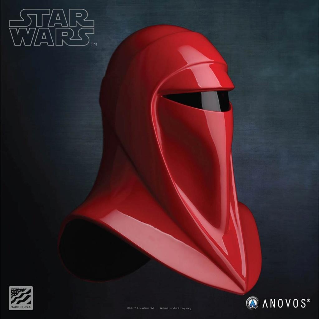 Imperial Royal Guard Helmet Accessory Star Wars ANOVOS - USA Royal-17