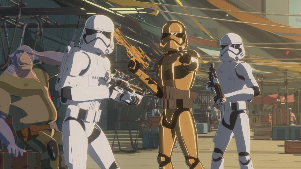 STAR WARS RESISTANCE SAISON 1 EPISODES 01 - 11 S01e0610