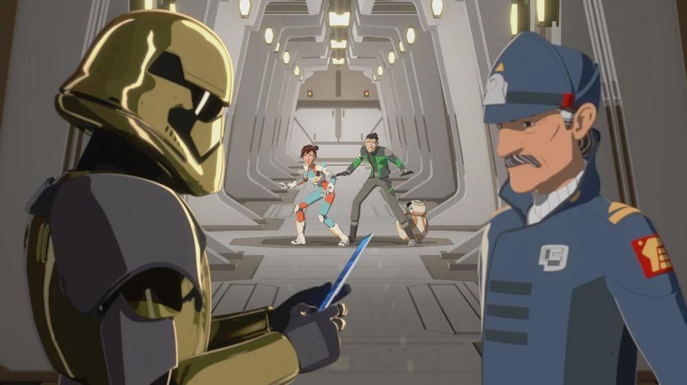 STAR WARS RESISTANCE SAISON 1 EPISODES 01 - 11 S01e1011