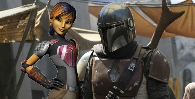 Les RUMEURS de la série Star Wars The Mandalorian Sabine10