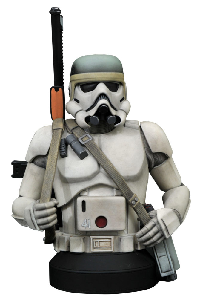 Star Wars Concept Sandtrooper 1/6 Scale Mini-Bust Sandtr17