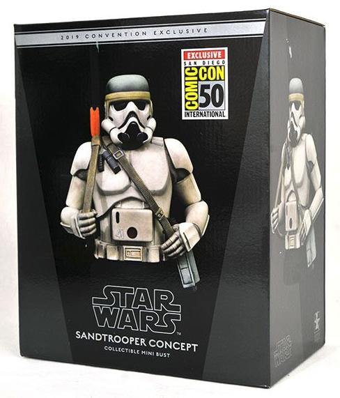 Star Wars Concept Sandtrooper 1/6 Scale Mini-Bust Sandtr18