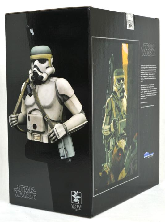 Star Wars Concept Sandtrooper 1/6 Scale Mini-Bust Sandtr19