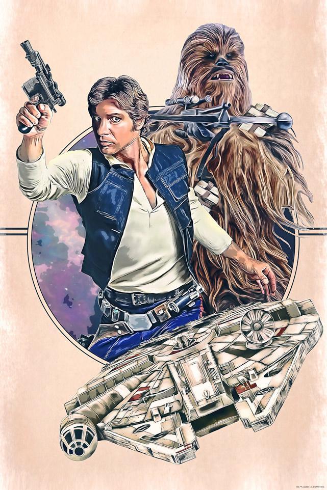Scoundrels - Artwork Star Wars - ACME Archives Scound10