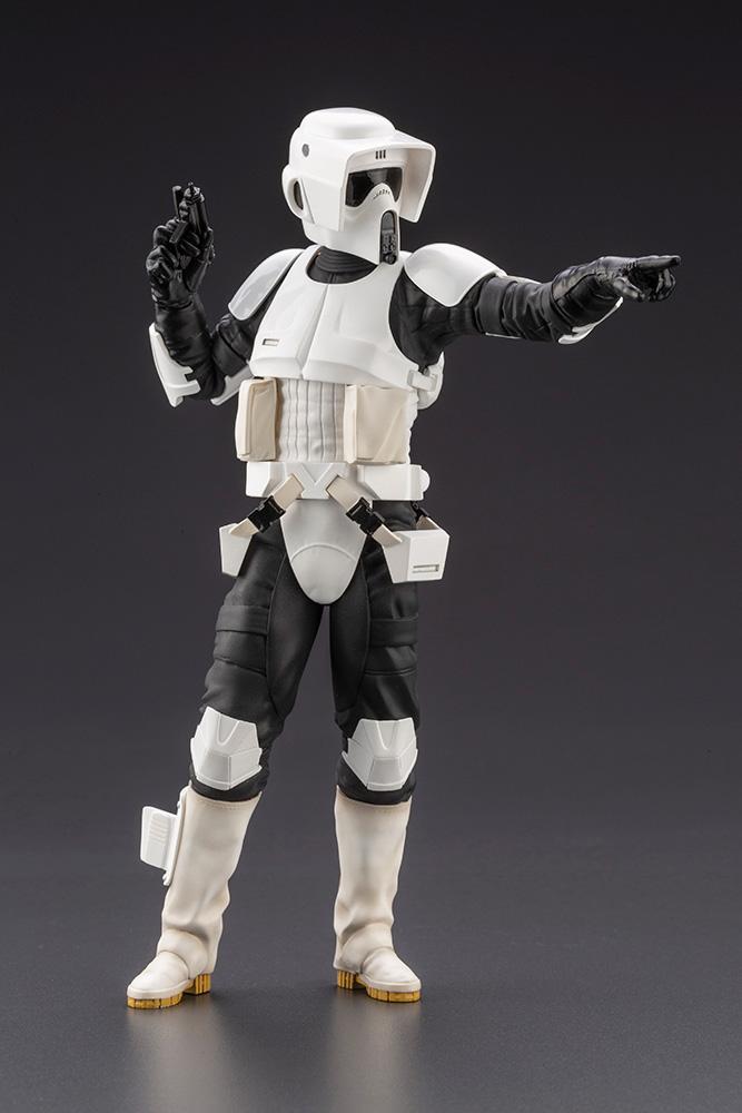 Scout Trooper ARTFX+ Star Wars Return Of The Jedi  Kotobukia Scout_15