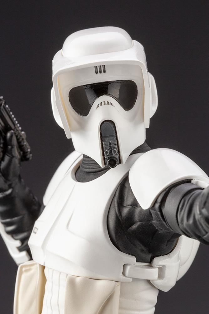 Scout Trooper ARTFX+ Star Wars Return Of The Jedi  Kotobukia Scout_16
