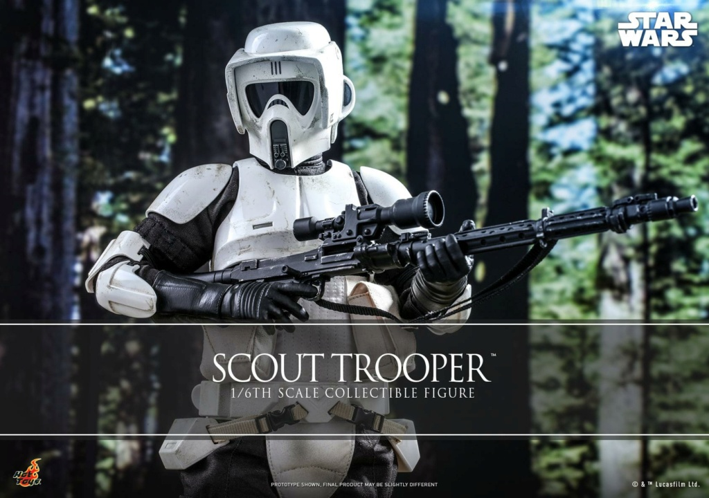 Scout Trooper Sixth Scale Figure - Hot Toys - Star Wars ROTJ Scout_27