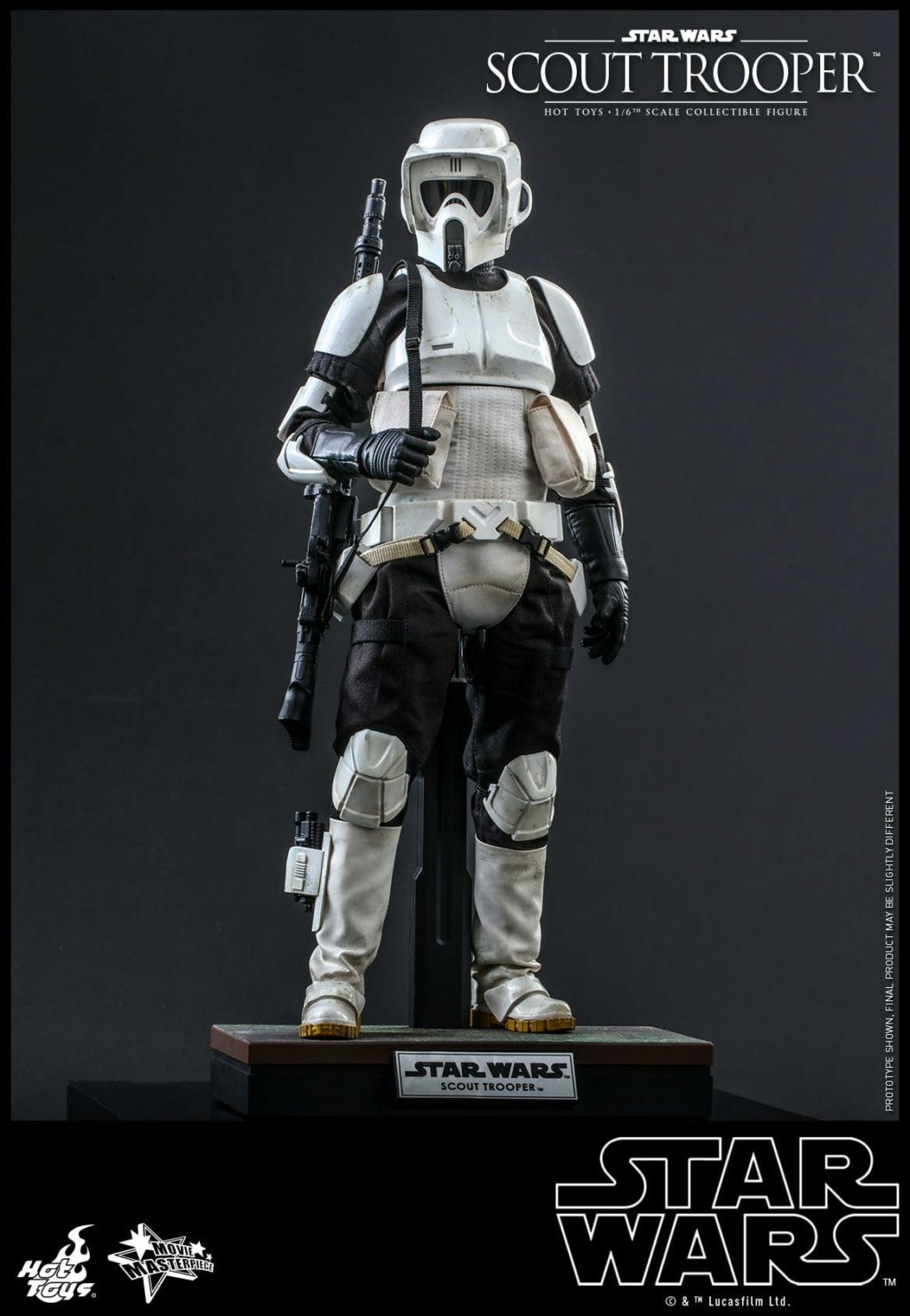 Scout Trooper Sixth Scale Figure - Hot Toys - Star Wars ROTJ Scout_28