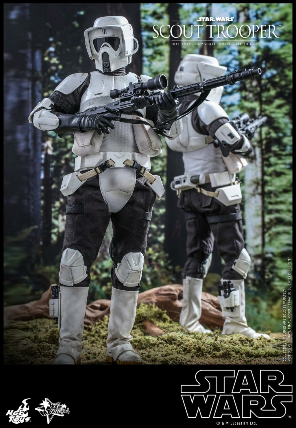 Scout Trooper Sixth Scale Figure - Hot Toys - Star Wars ROTJ Scout_29