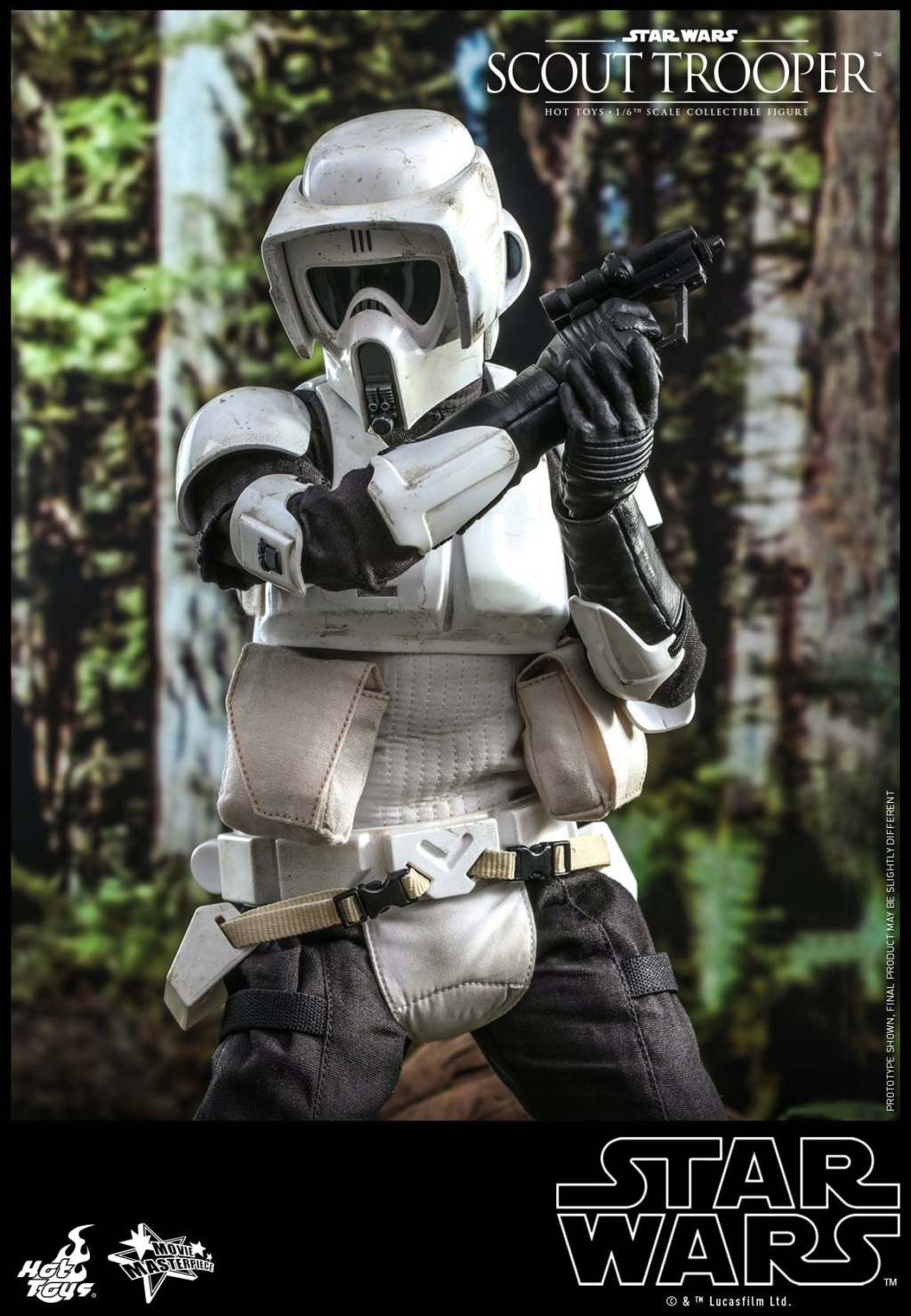 Scout Trooper Sixth Scale Figure - Hot Toys - Star Wars ROTJ Scout_30