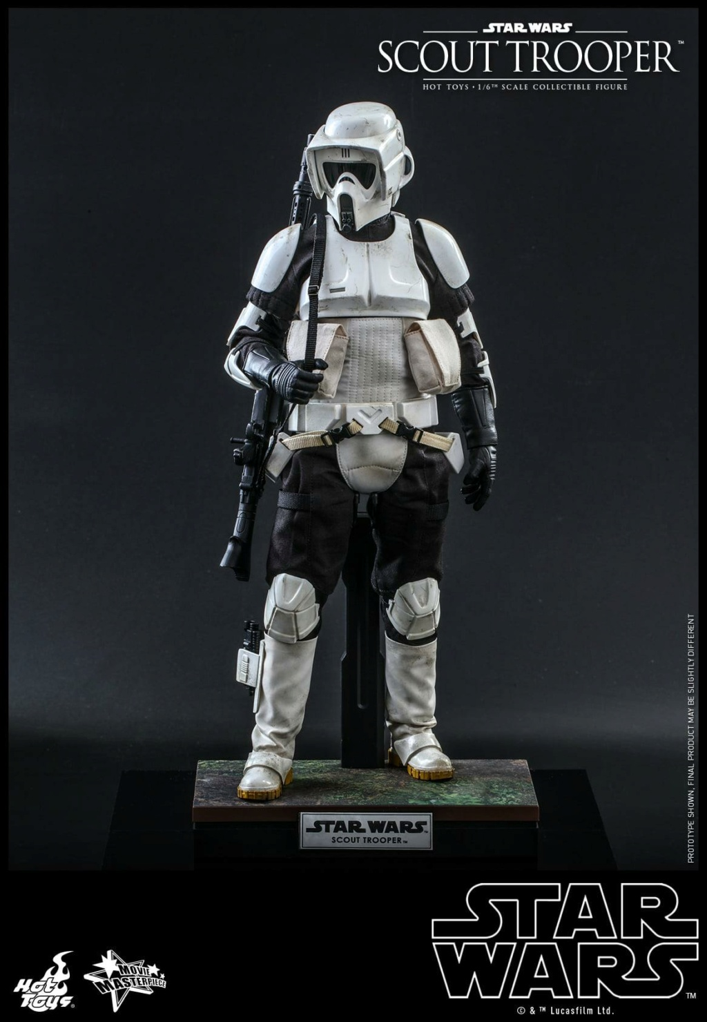 Scout Trooper Sixth Scale Figure - Hot Toys - Star Wars ROTJ Scout_31